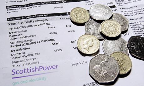 Households Suffer from Steep Rise in Energy Bills