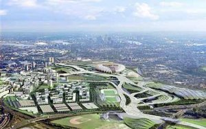 London real estate prices boom in anticipation of 2012 Olympics