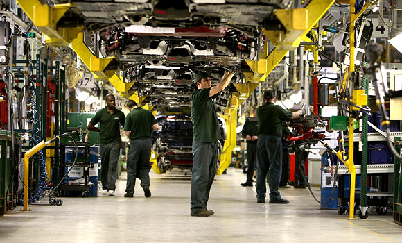 UK Manufacturing Sector Reaches Two-Year Peak Growth