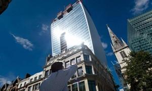 'Walkie Talkie' building in London