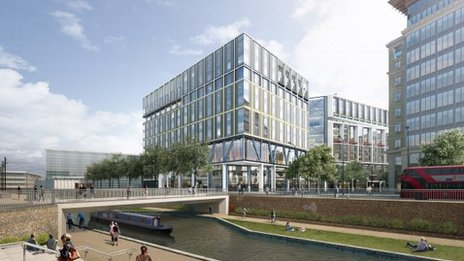 Google to Build Giant British HQ