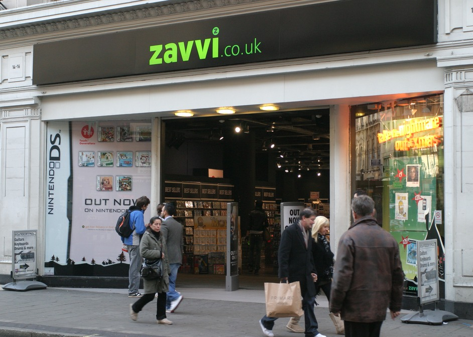 End of the road for Zavvi - Manchester Evening News