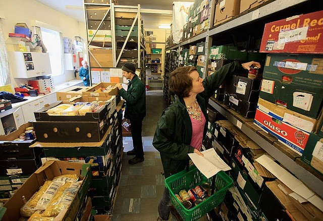 Food Bank Usage 'Shocking', Claims Charity