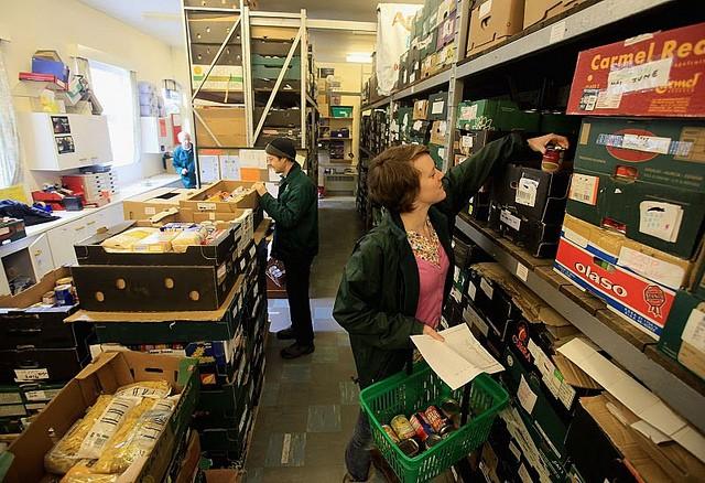 Food Bank Usage 'Shocking', Claims Charity