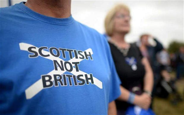Fears over Scottish independence sees the pound fall