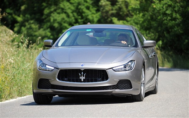 Maserati Takes Aim at BMW, Mercedes Benz With New Ghibli